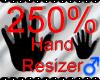 *M* Hand Scaler 250%