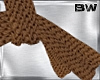Brown Crochet Scarf
