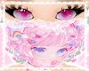 anime lace mask! ♡