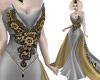 Masquerade Gown Grey