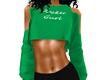 Cut out Sweatshirt Green