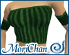 Strips Green Top