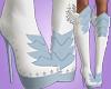 ❥ Angel Boots