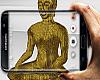 Gold Buddha.