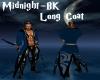 Midnight-Bk Long Coat