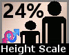 Height Scale 24% F A