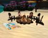 Beach Bonfire Fun