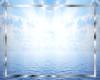 Add blue sea and sky