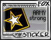 [F] Support Army Stamp