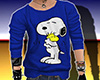 G1 Snoopy blue top
