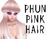 * Phun pink hair