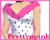 PolkaDot/Pink Sleeveless