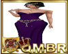 QMBR Gown Simply Purple