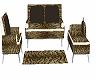 (D) Leopard Sofa/poses