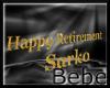 Custom Retirement Banner