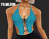 F' Teal Ribbon
