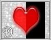 *D*Red Lovely Heart