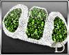 D™ peridots  ring