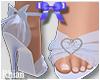 🔮 Babydoll Heels Blue