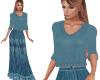 TF* BOHO Top & Skirt blu