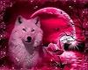 wolf cuddle swing