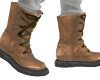 NV Wolf Boots Tan