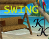 (KK)WICKER/RATTAN SWING