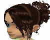 Dark Brown Bridal Hair