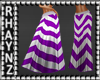 Long Summer Skirt *Purpl