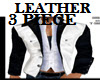TWO TONE LEATHER 3PIECE