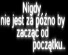 Nigdy nie jest | Pl Neon