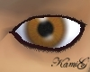 ~K~ Warm brown eyes (M)