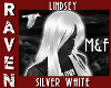M&F LINDSEY SILVER WHITE
