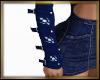 Dark Blue Arm Warmers