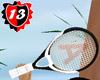 #13 Racket - WHITE
