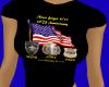 Heroes 9/11 Ladies Tee