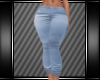 [L] BLUE CASUAL JEANS