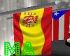 Spain Flag Pole