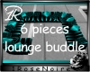 teal sofa lounge bundle
