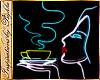 I~C*Neon Coffee Lady