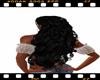 capelli neri ricci