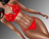 Iris- Red Bikini