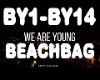 We Are Young Beachbag
