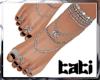 lTl Feet Chain Silver 5