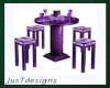 Tall Table Purple