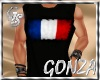 """GS"" BLACK SHIRT FRANCE"