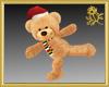 Holiday Skate Teddy