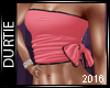 [T] Bow Top Pink