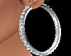 Aros Plata diamantes