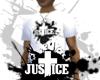 JUSTICE™ Logo Tee White